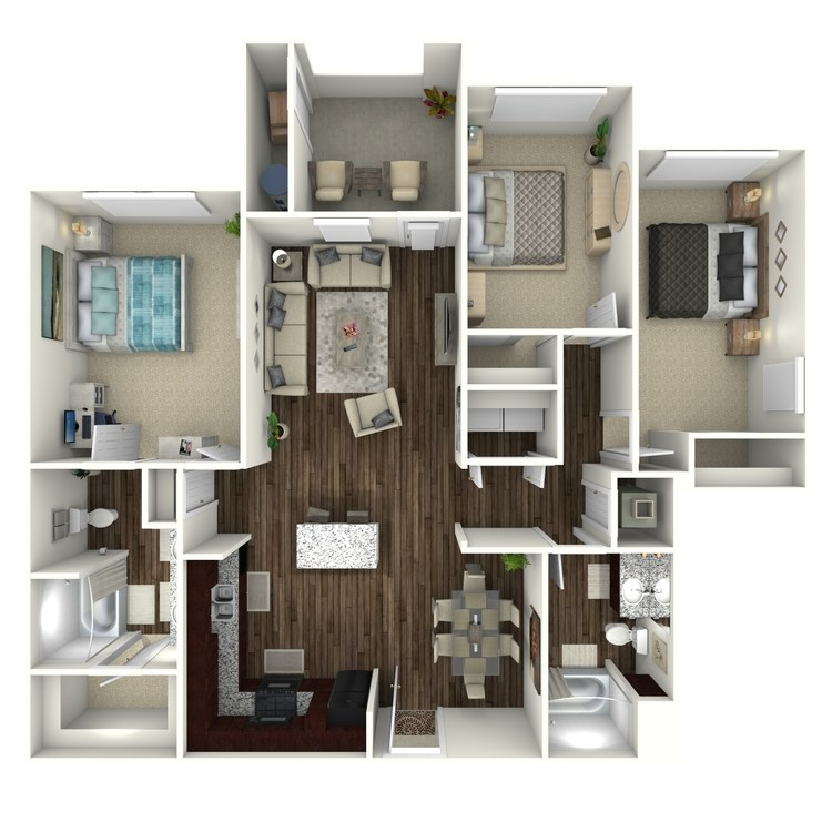 Floor plan image of Plan C1