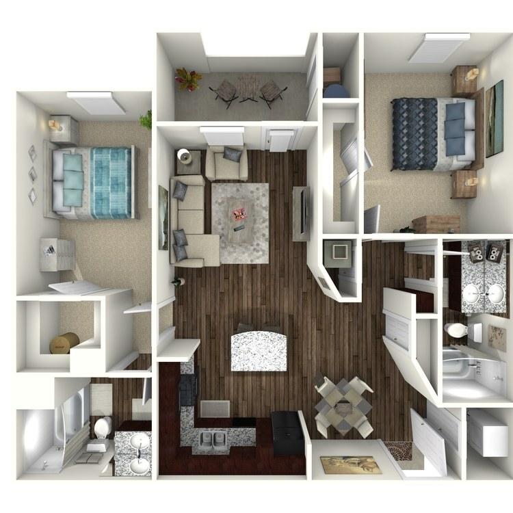 Floor plan image of Plan B1