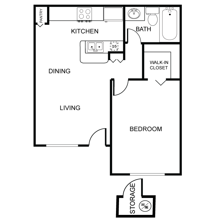 The apple apartments availability floor plans pricing 1 bedroom regular malvernweather Choice Image