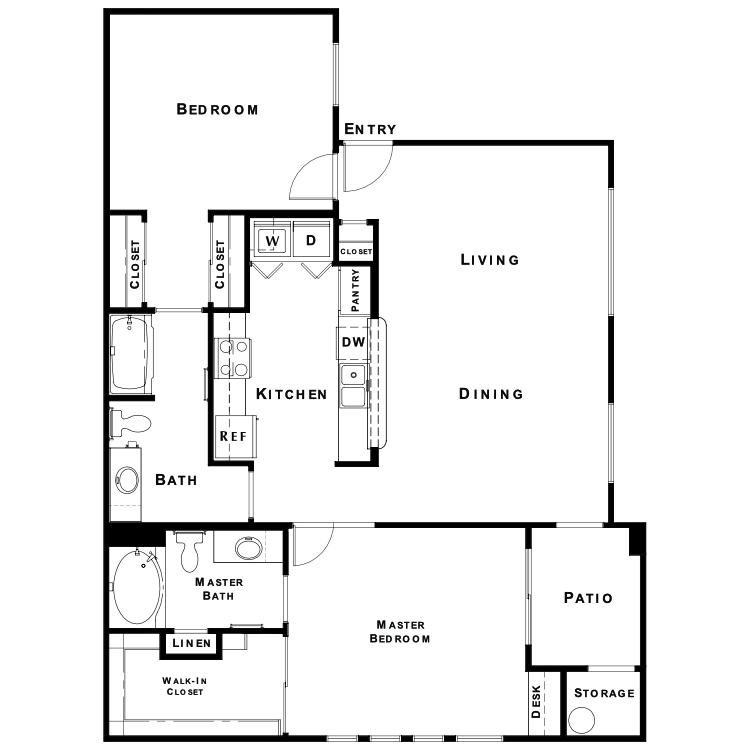 Floor plan image of The Haven