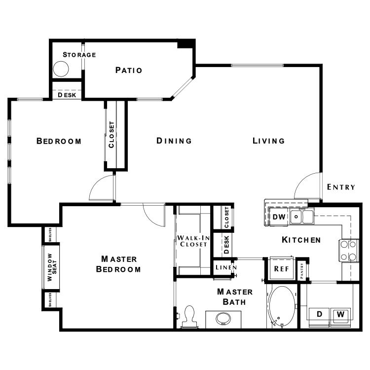 Floor plan image of The Retreat