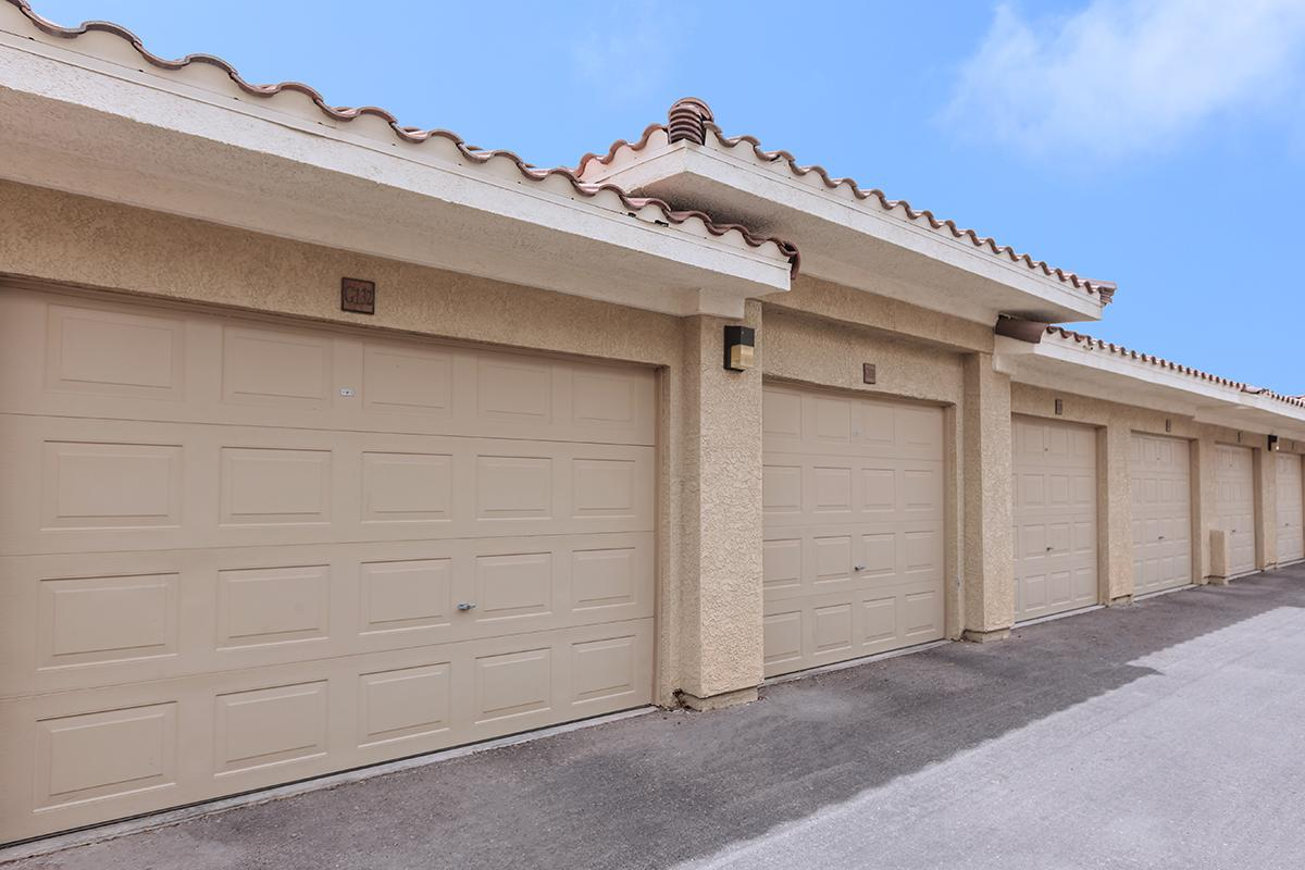 Garages Available at The Preserve Apartments