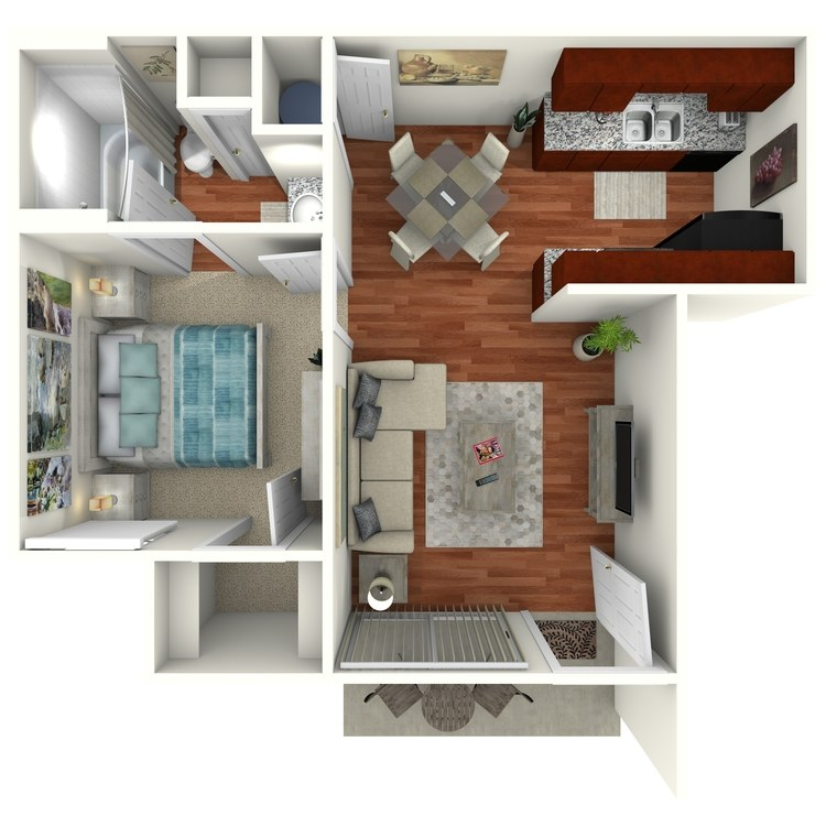 Floor plan image of The Willow Downstairs