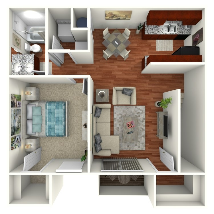 Floor plan image of The Palm Upstairs