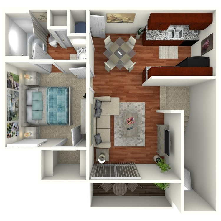 Floor plan image of The Willow Upstairs