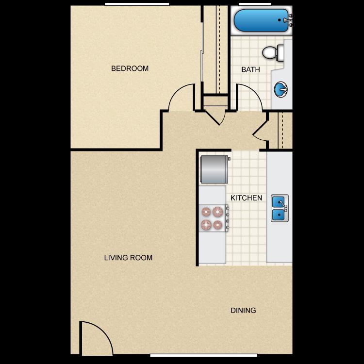 Plan A floor plan image