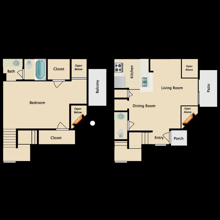 Floor plan image of Fairfield
