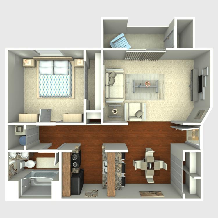 Floor plan image of Beech