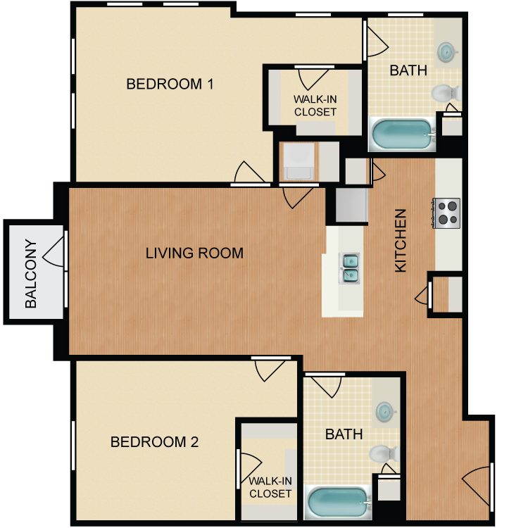 Floor plan image of Pink Lady