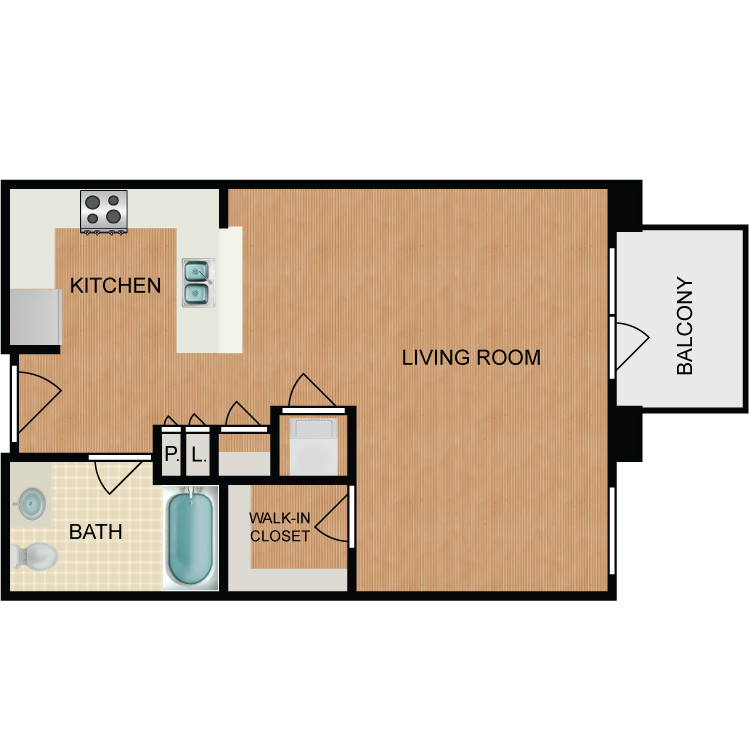 Floor plan image of Chocolatini