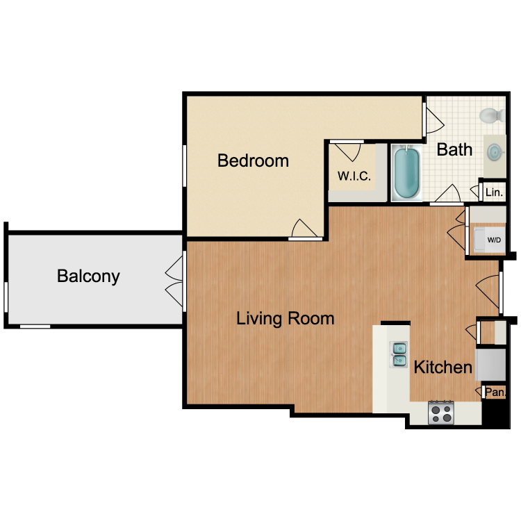 Floor plan image of Cosmopolitan