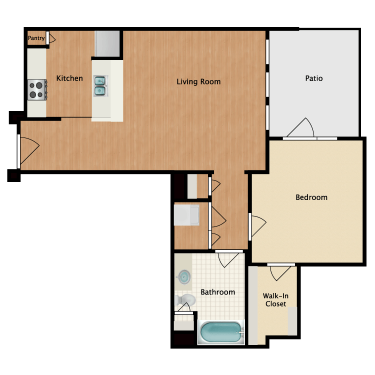 Floor plan image of Cubre Libra