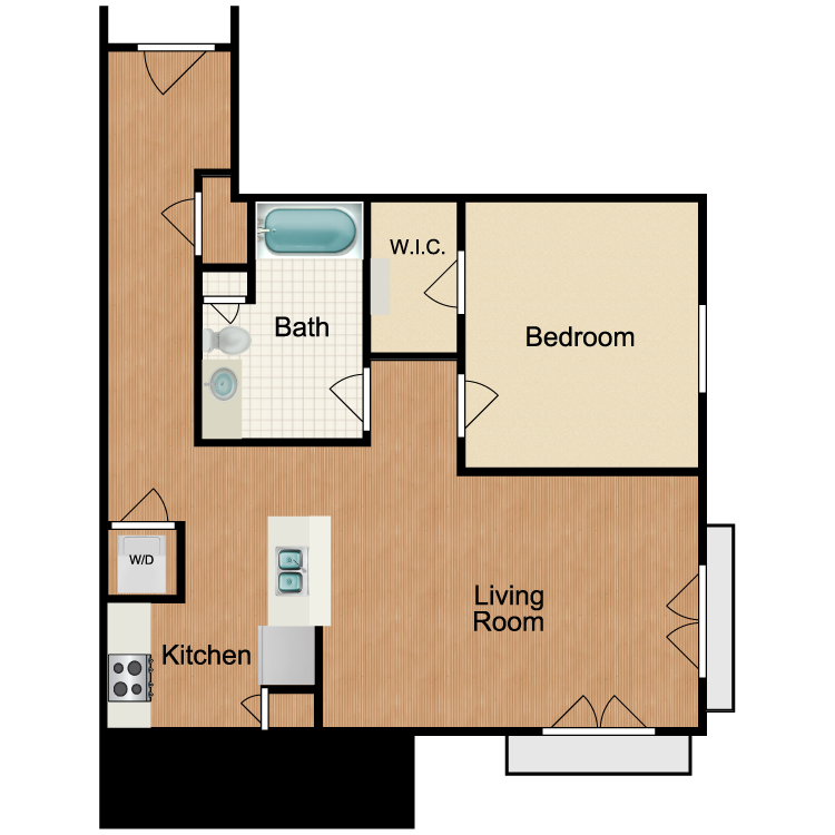Floor plan image of Gin Fizz