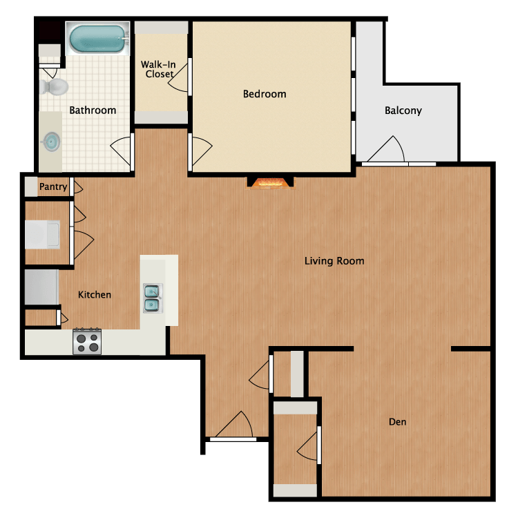 Floor plan image of Grey Hound