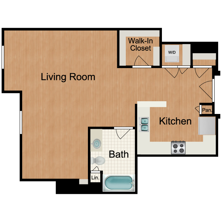 Floor plan image of Highball