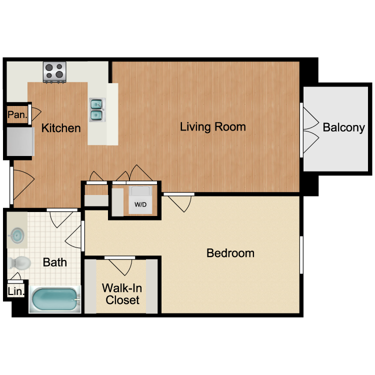 Floor plan image of Lemon Drop