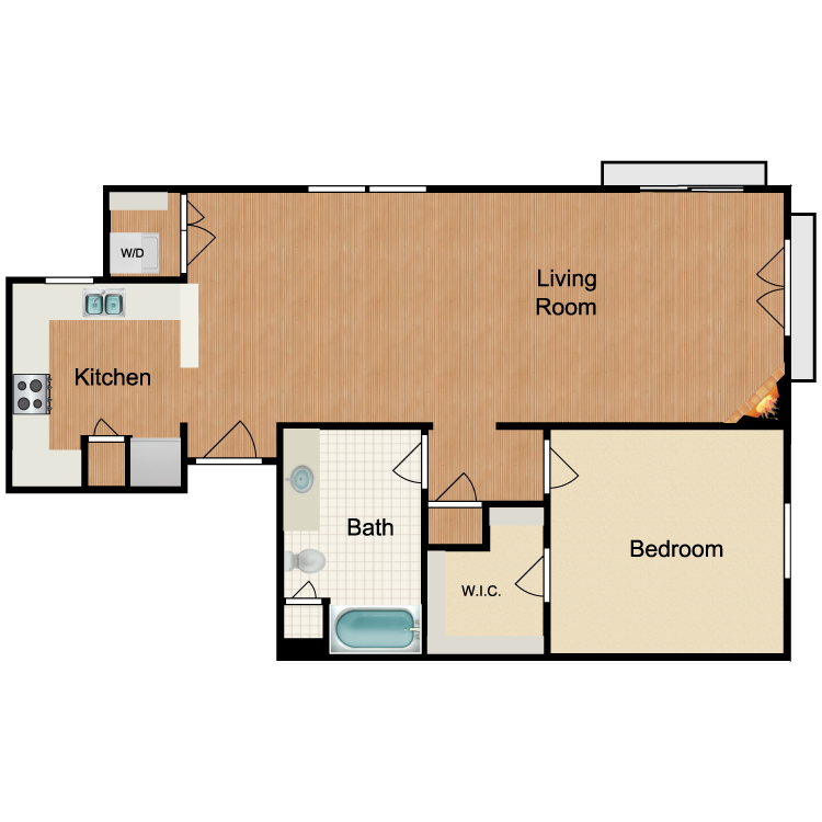 Floor plan image of Mimosa