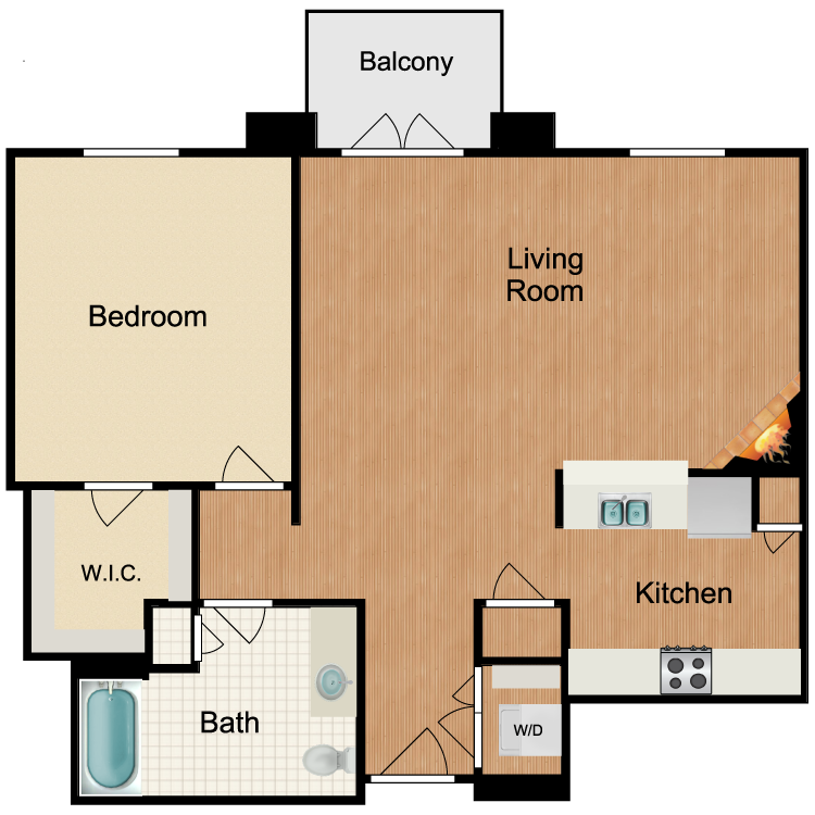 Floor plan image of Mint Julip