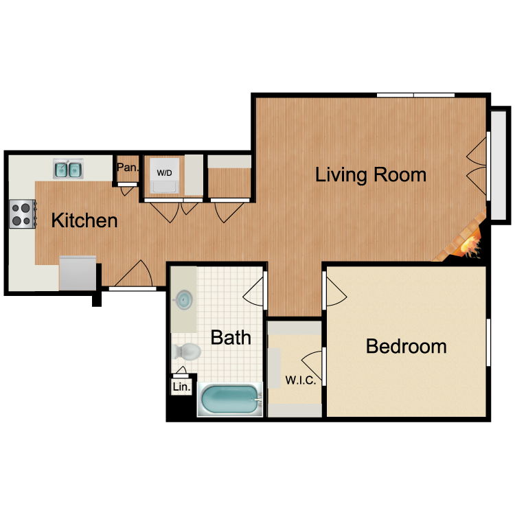 Floor plan image of Mojito