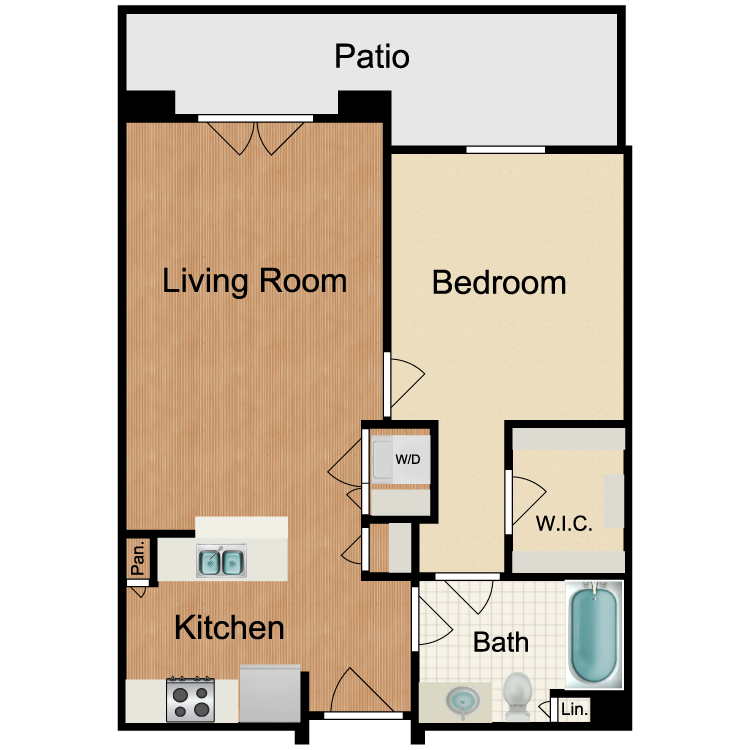 Floor plan image of Rusty Nail