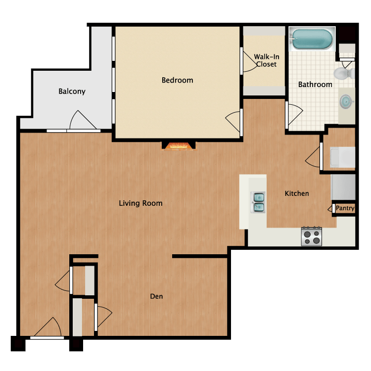 Floor plan image of Salty Dog