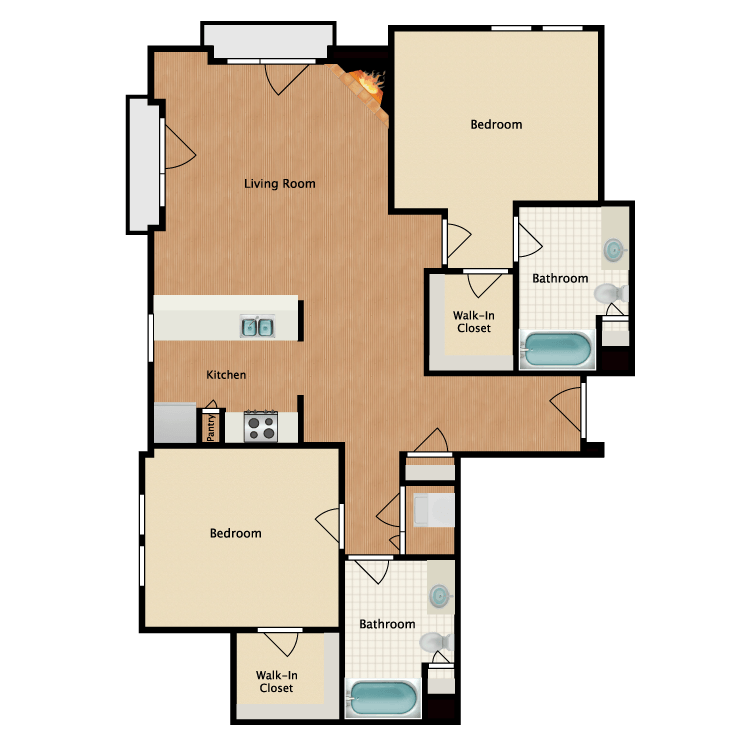 Floor plan image of Serendipity