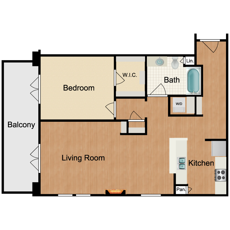 Floor plan image of Tom Collins