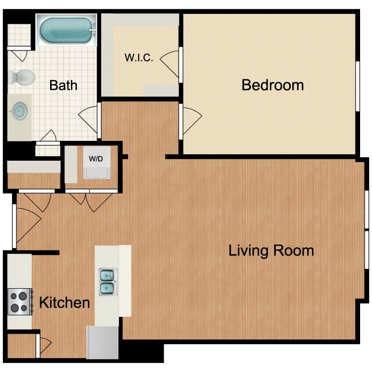 Floor plan image of Whiskey Sour