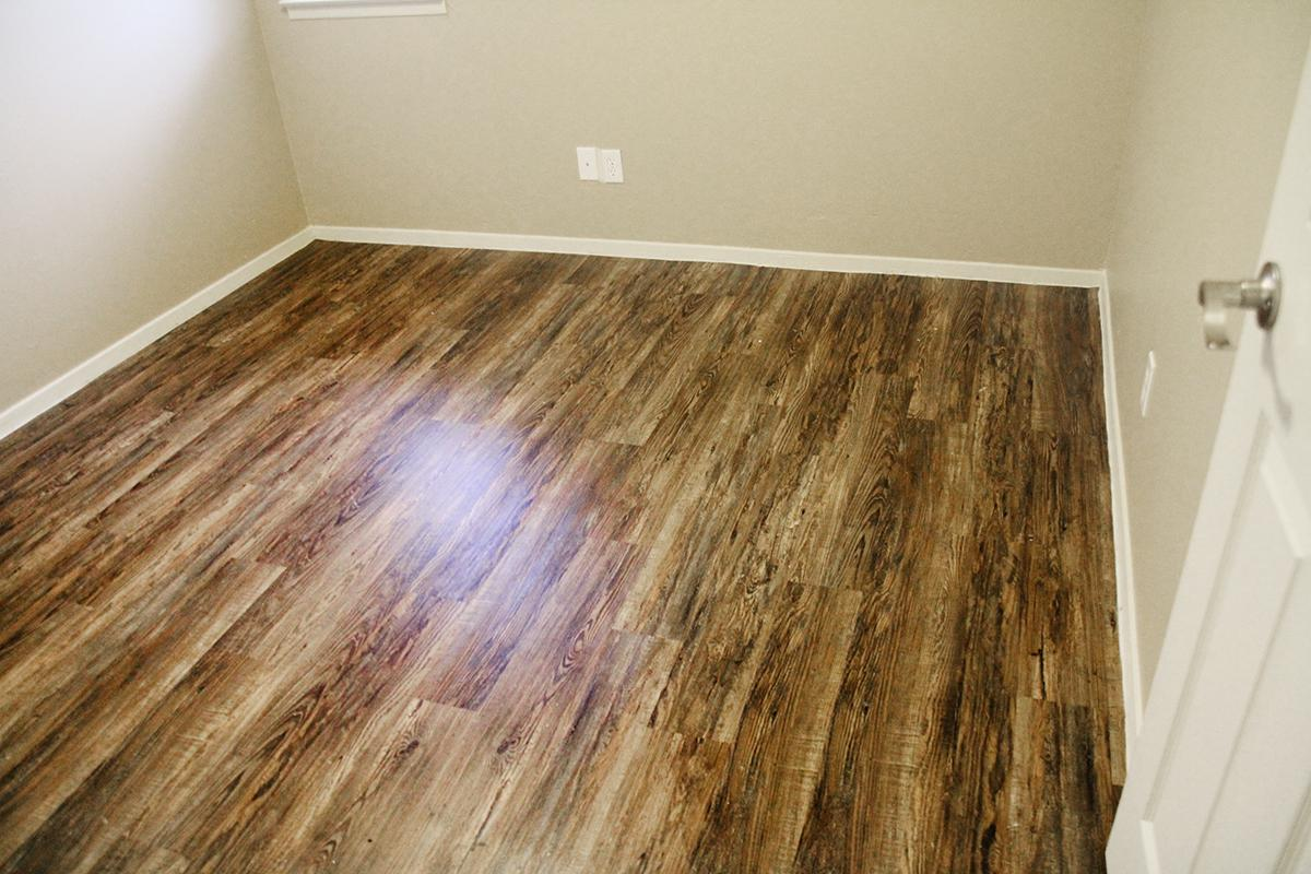 a view of a wooden floor