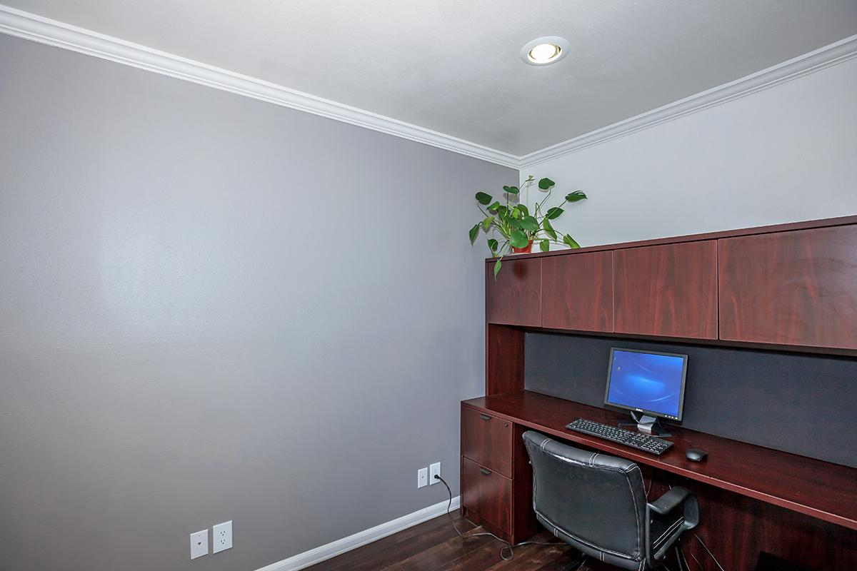 a room filled with furniture and a tv