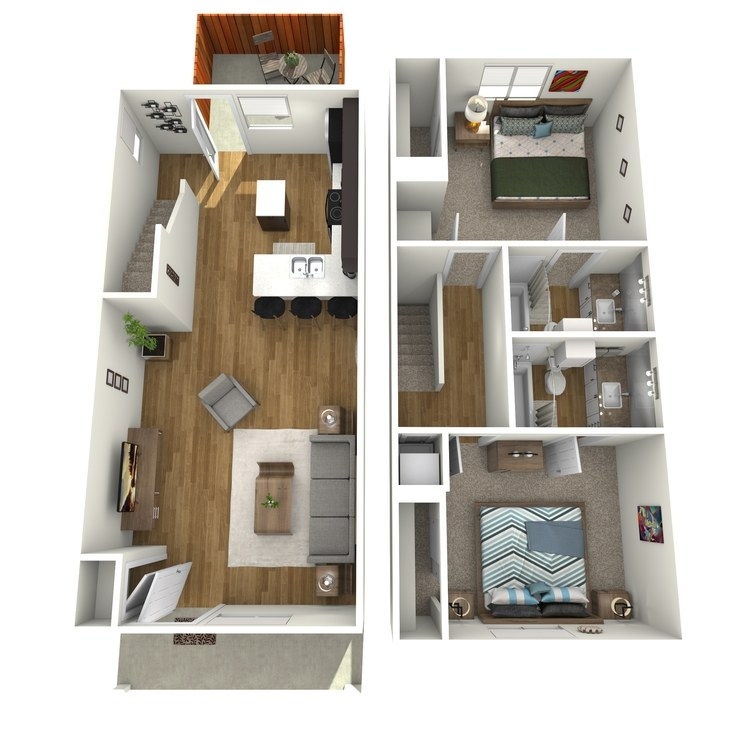 Pecos floor plan image