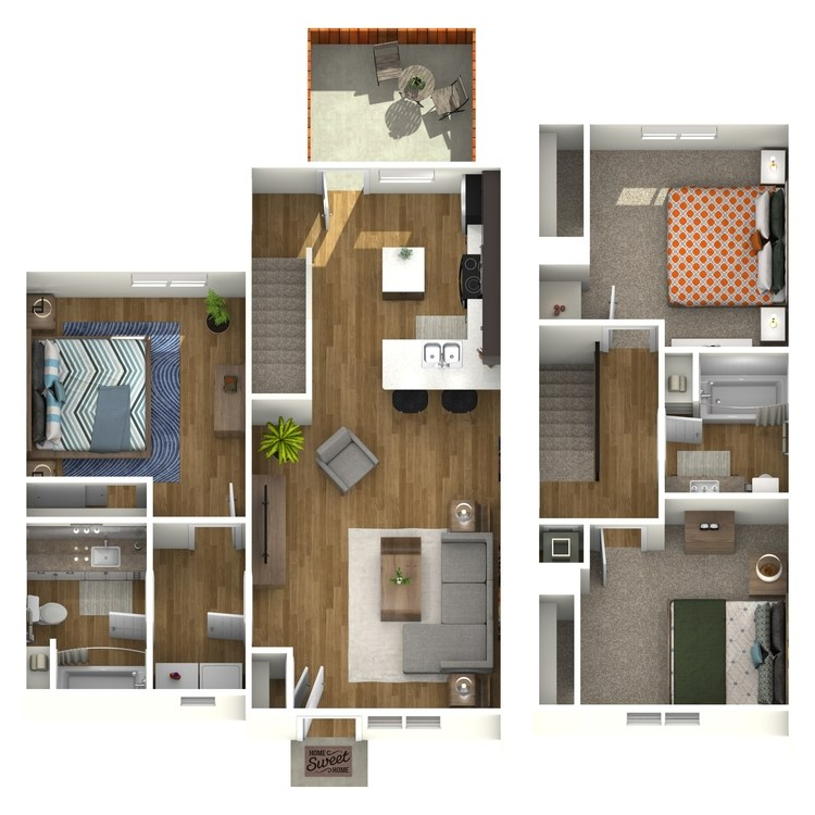 Floor plan image of Guadalupe