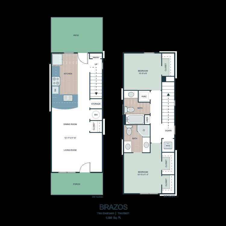 Brazos floor plan image