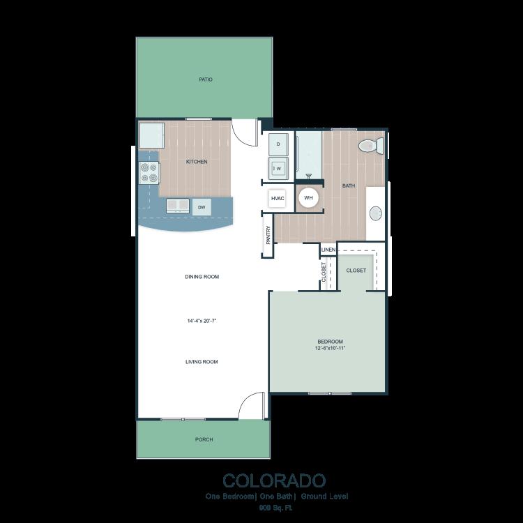 Colorado floor plan image