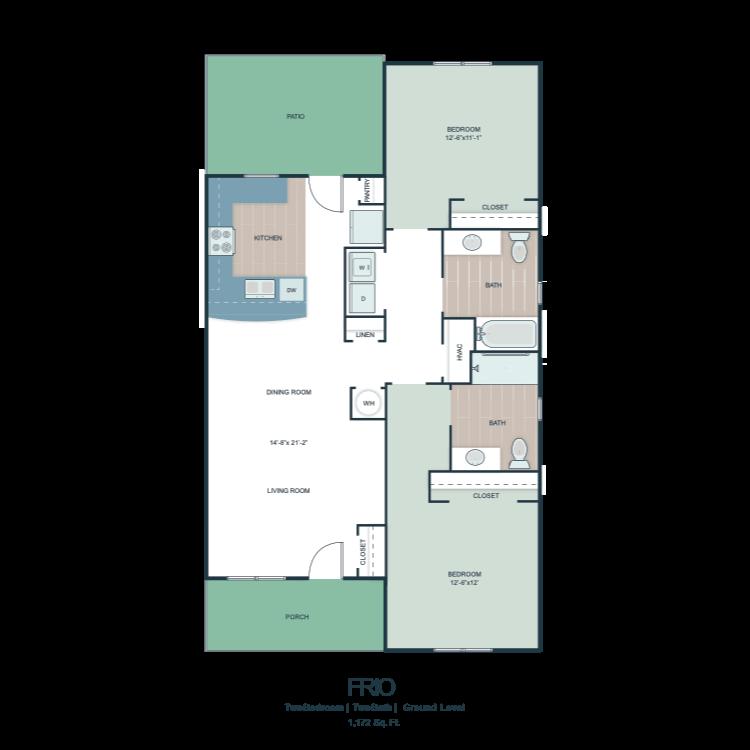 Frio floor plan image