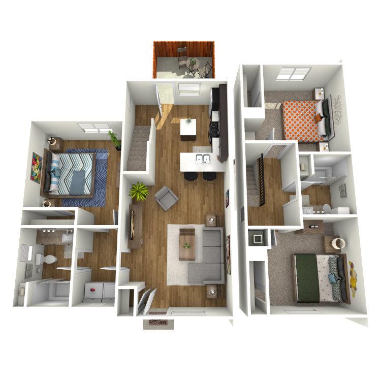 Guadalupe floor plan image