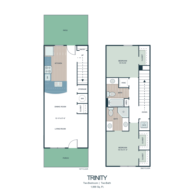 Trinity floor plan image