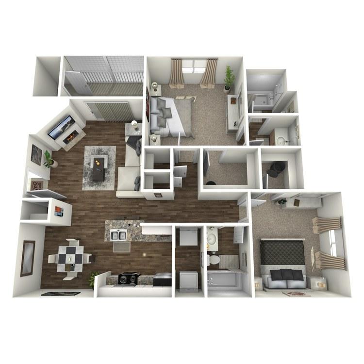 Floor plan image of Holston
