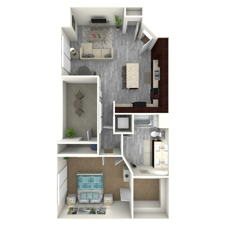 Floor plan image of Lux