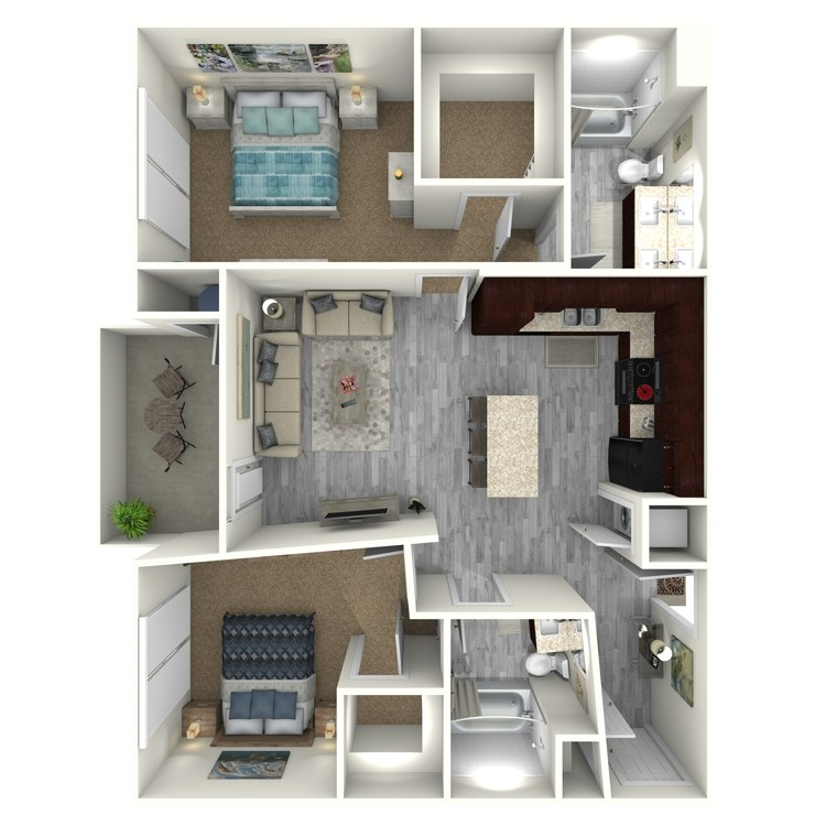 Floor plan image of Sophisticate