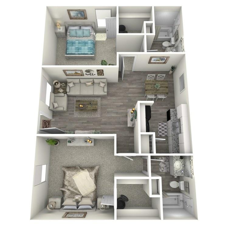 Floor plan image of 2-2 S