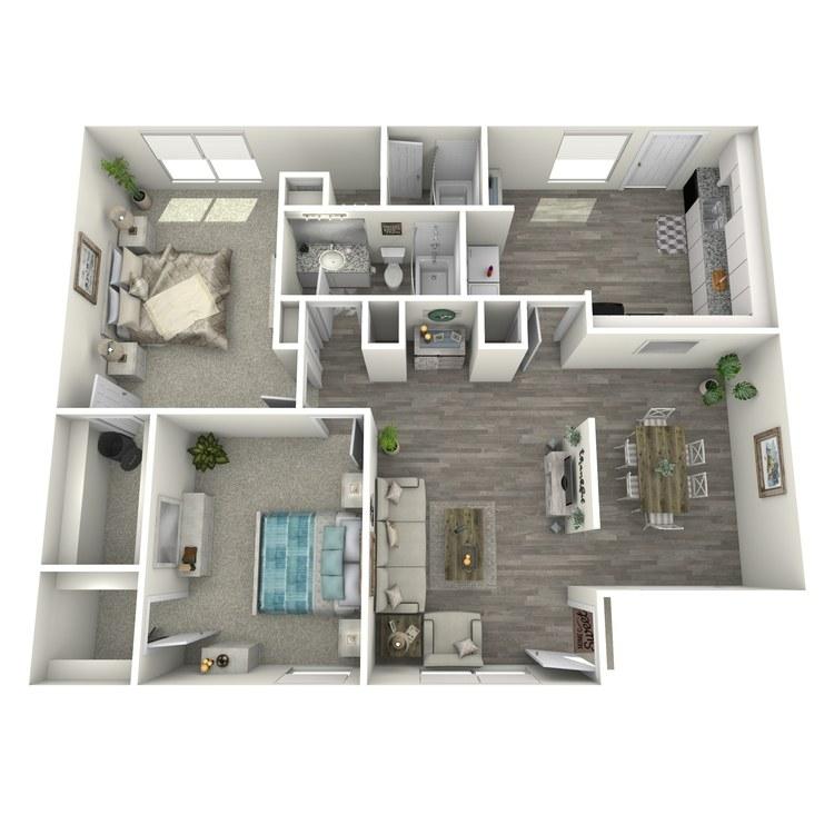 Floor plan image of 2-2 L