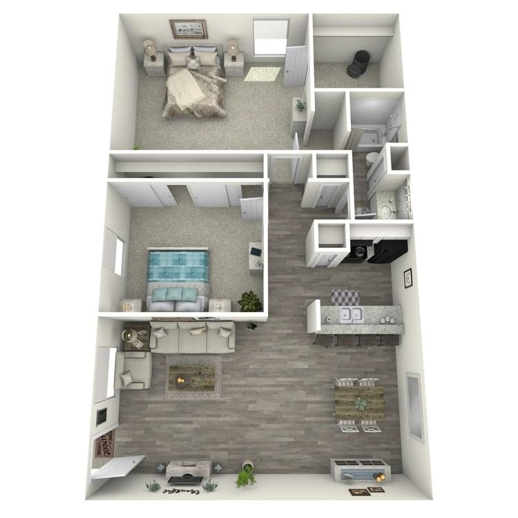 Floor plan image of 2-1