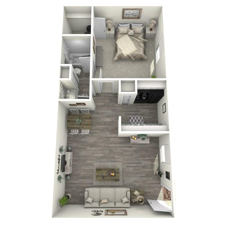 Floor plan image of 1-1