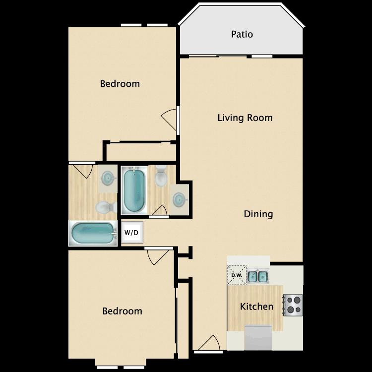 Floor plan image of Tivoli