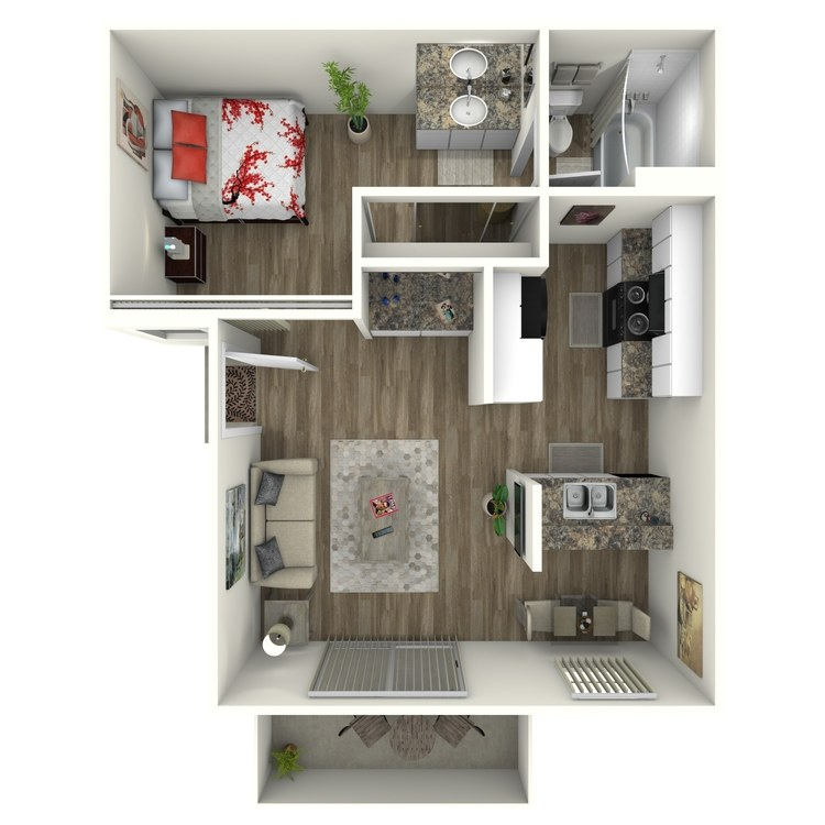 Floor plan image of Oaks