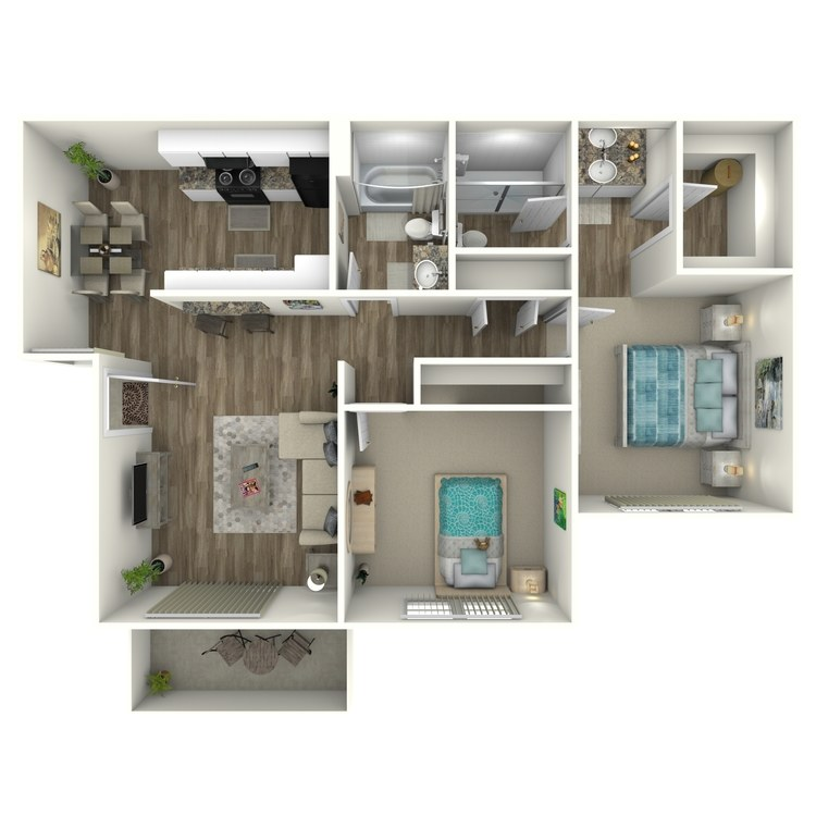 Willows floor plan image