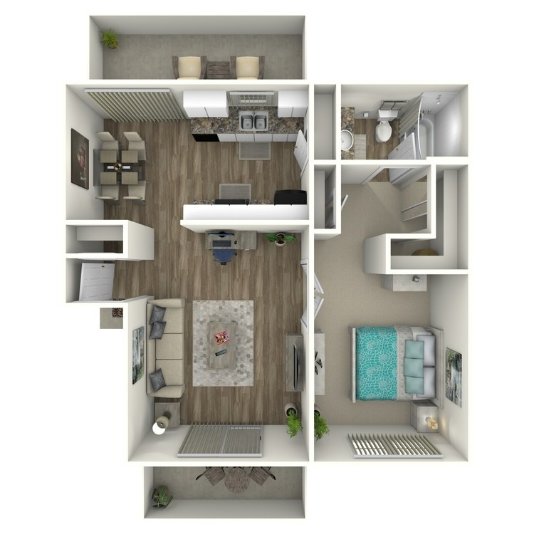 Birches floor plan image