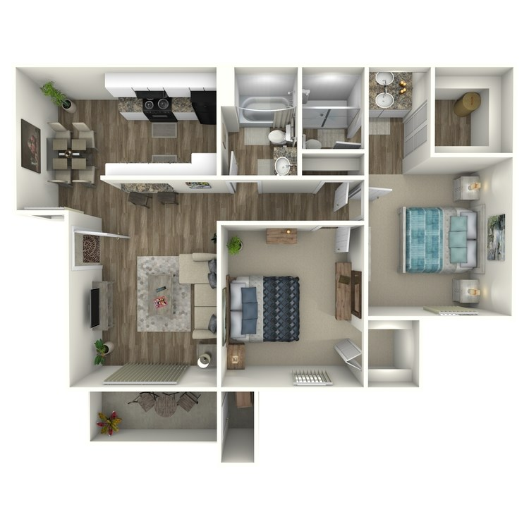 Floor plan image of Cedars