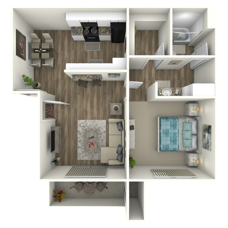 Floor plan image of Pines